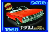 1969 Chevelle Convertible - 1/25  AMT 823