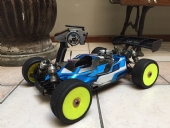 Buggy Losi Eight + Caixa de partida e carregador