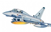 Italeri - Model Set EF-2000 Typhoon - 1/72 - Vem com ALICATE, cola, tinta e pincel - ITA 72001