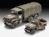 M34 Tactical Truck + Jeep - 1/35 -  REV 03260