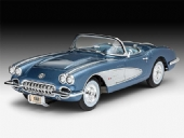 Revell - Corvette Roadster 1958 - 1/25 -  REV 07037