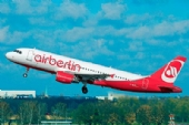 Model Set Airbus A320 AirBerlin - 1/144  REV 64861