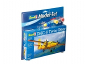 Model Set - DHC-6 Twin Otter - 1/72 - (vem com cola, pincel e tinta)  REV 64901