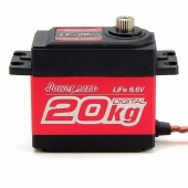 LF-20MG Servo Digital Metal 20Kg 6.6V POWER HD