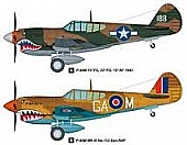 P-40M Kitty Hawk - 1/48 HBS ER-85801 - HOBBY BOSS