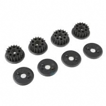 Drive pulley set for TS-4 (2) TTR PD0848